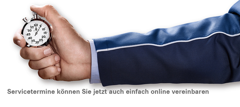 Servicetermin online vereinbaren