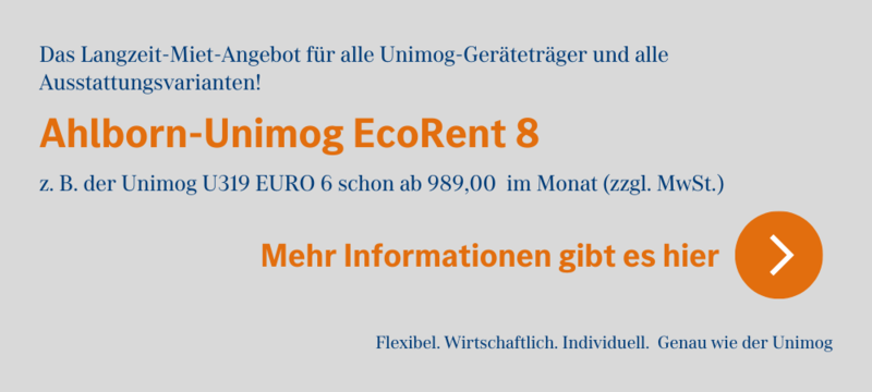 Ahlborn-Unimog Eco-Rent 8